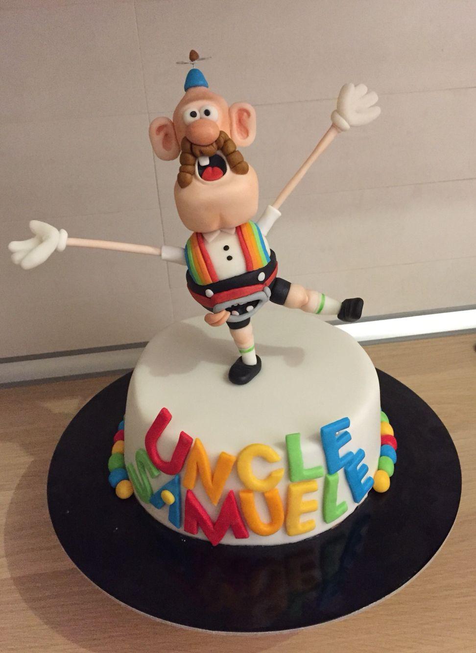 Uncle Grandpa Cake La Dolce Vita - Le torte di Bli ...