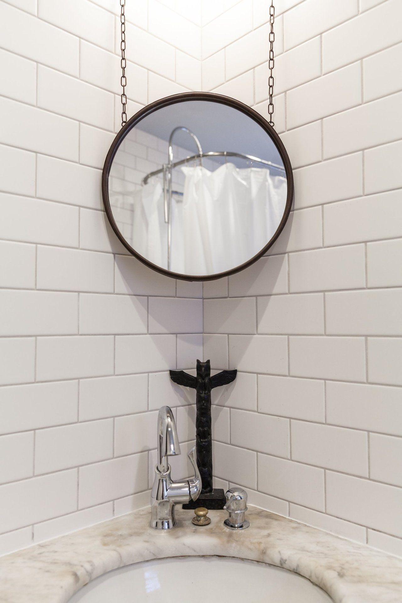 Chris Historic Home in Toronto  Bathroom  Corner sink
