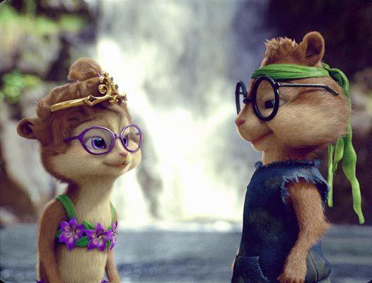 Simon Y Jeanette Alvin E Os Esquilos Fotos Fofas Esquilo