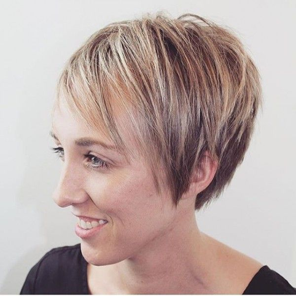 20 Easy Short Pixie Haircuts For Round Faces