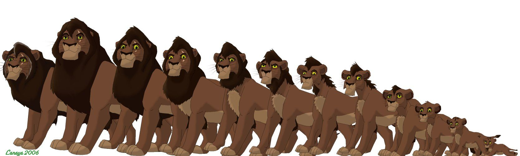 Kovu Age Progression by Goalie89.deviantart.com on @deviantART