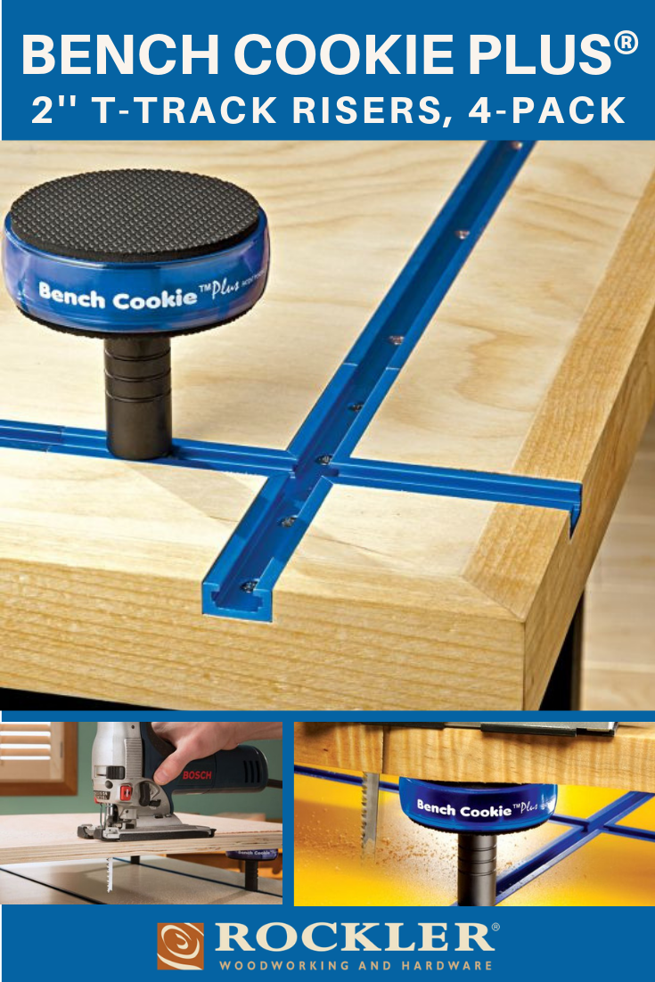 Magnificent Rockler Bench Cookie Plus 2 T Track Risers 4 Pack A Caraccident5 Cool Chair Designs And Ideas Caraccident5Info