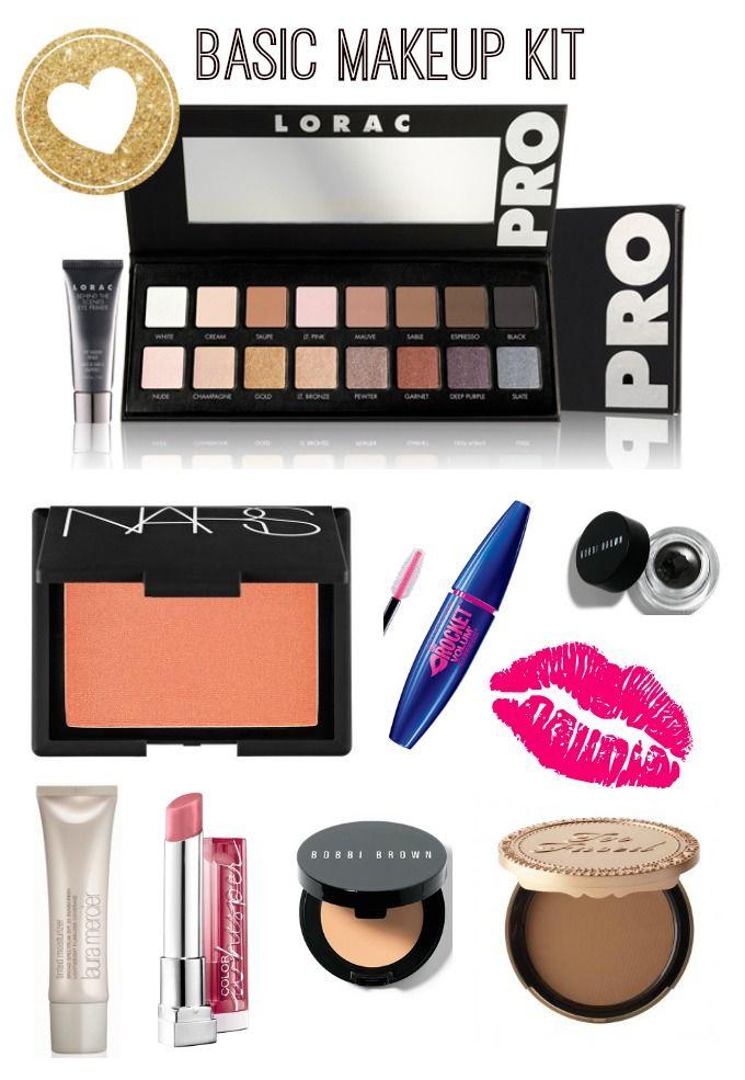 Makeup Kit: Basic Makeup Kit Essentials On Bubbles & Lace!