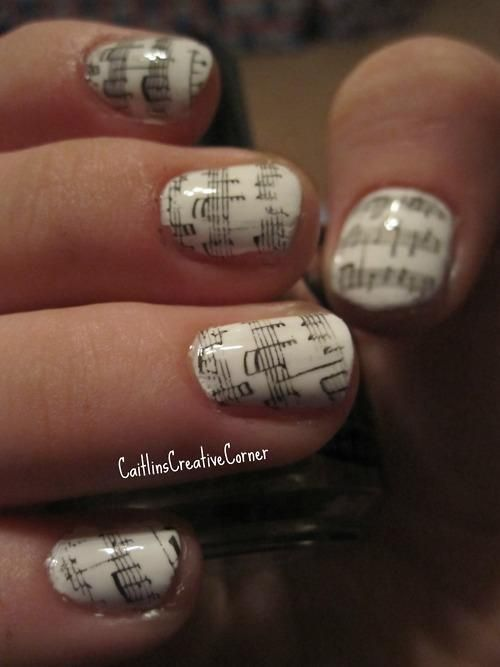 Fabulous Nail Art Design 2013: White