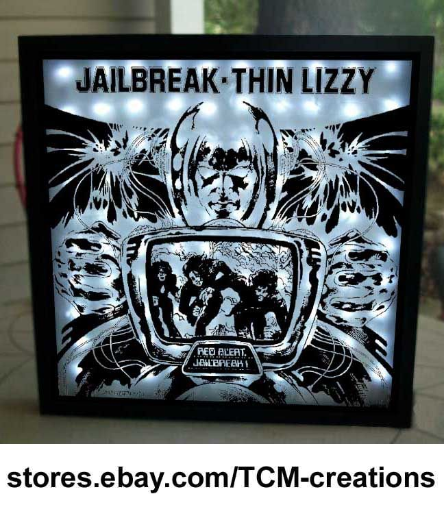 Thin Lizzy shadow box with LED lighting. Phil Lynott Shades Of A Blue Orphanage & Thin Lizzy shadow box with LED lighting. Phil Lynott Shades Of A ... Aboutintivar.Com