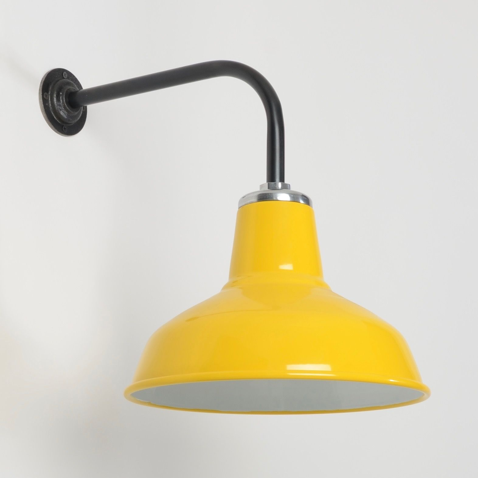 The Classic Factory Shade Wall Light -Sunflower Yellow | Pinterest ...