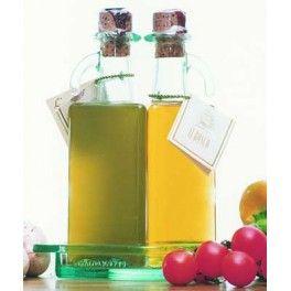 Olio EVO Ogliarola Bottiglie di Vetro Gemelle