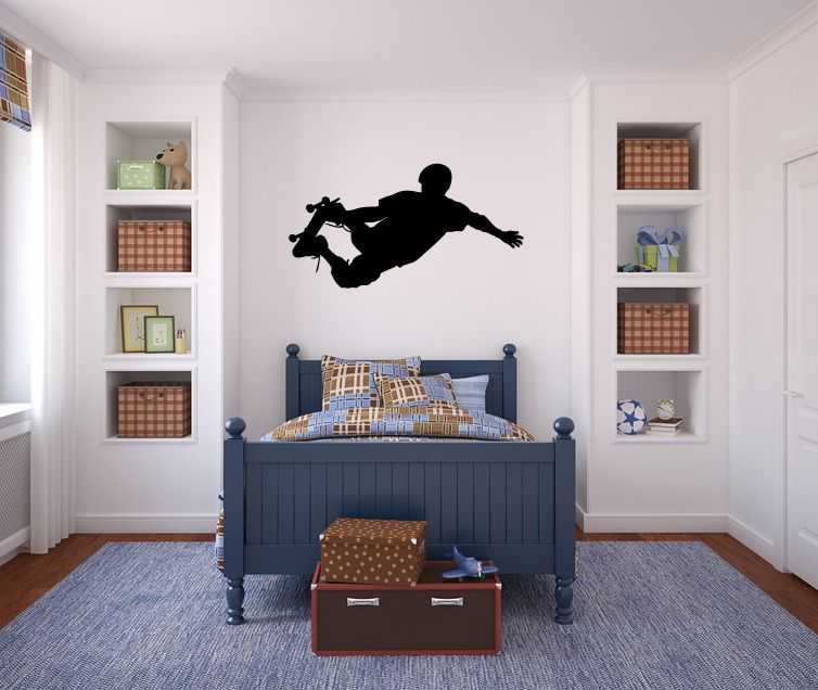 5362 - Skateboarder Wall Decal Sticker Graphic Mural $38