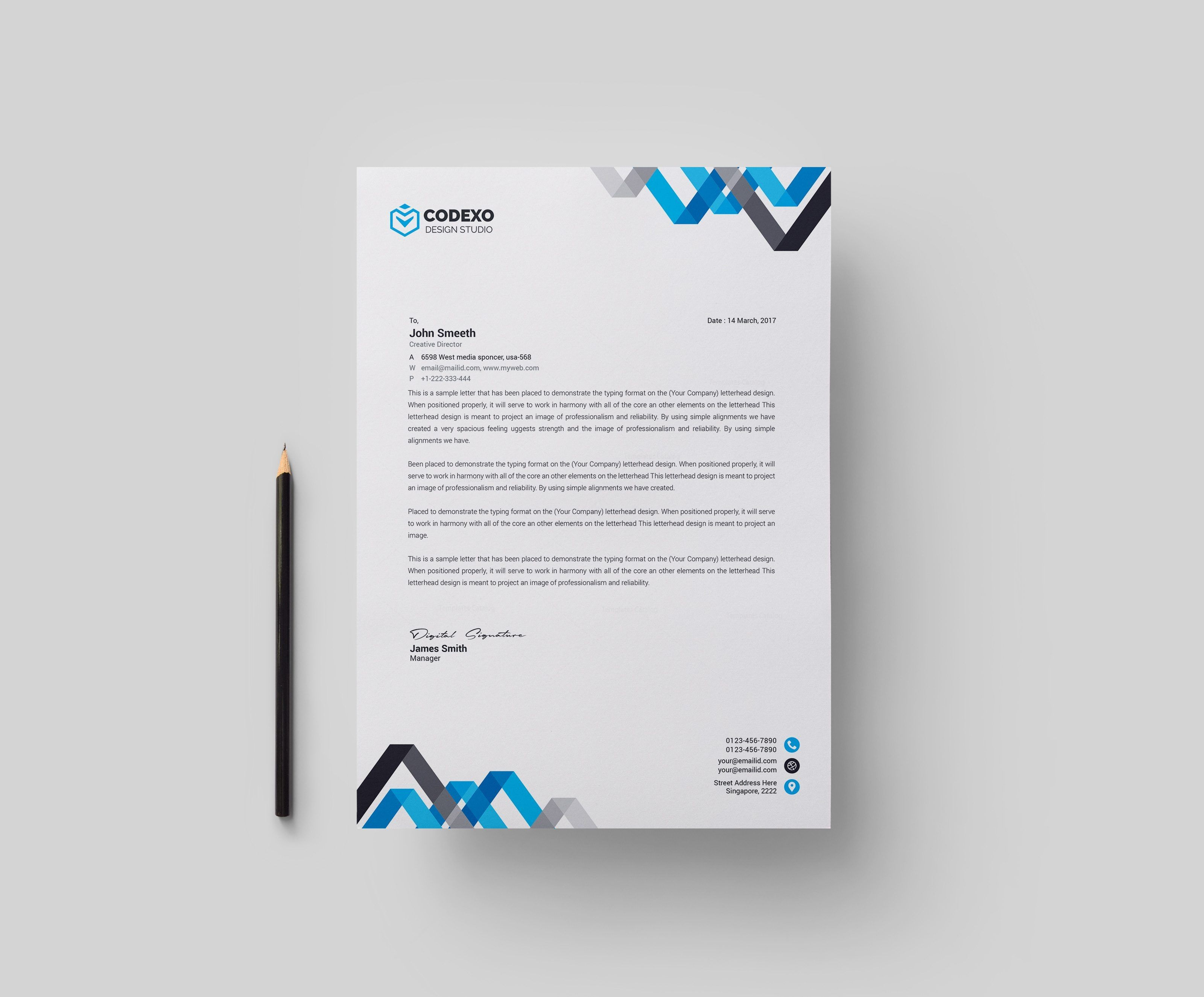 chevron professional corporate letterhead template 000902 senior systems engineer resume sample for store manager driver doc