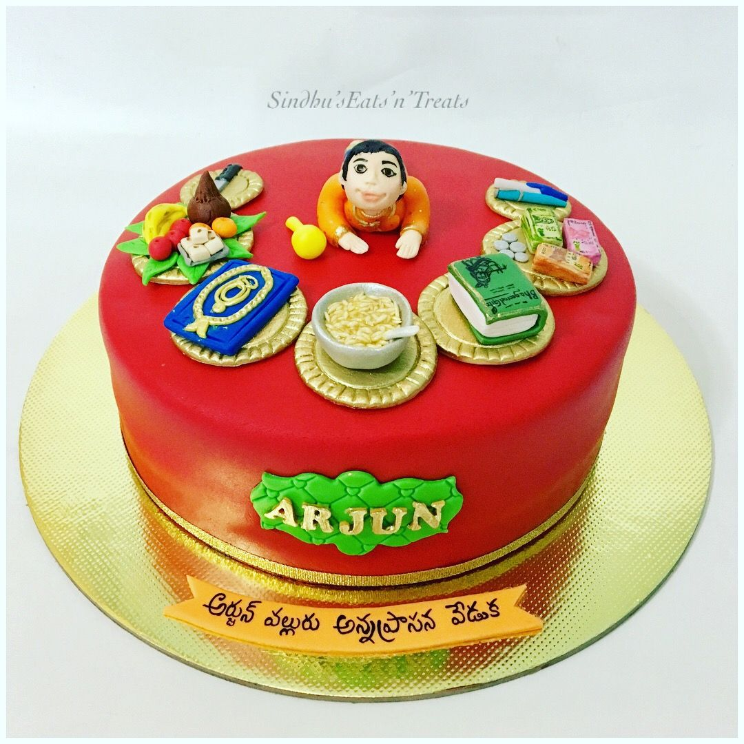 Annaprasanacake For Baby Boy Rice Eating Cermony Cake 50th