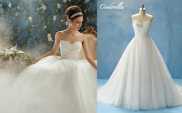 Alfred Angelo Style 205: Inspired by Cinderella | Famous Gowns ...