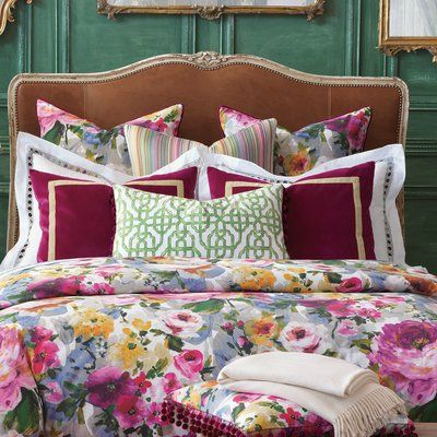 Eastern Accents Tresco Bloom Duvet Cover Size California King In