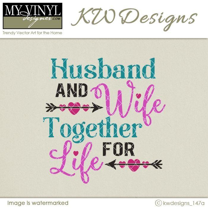 DIGITAL DOWNLOAD ... Wedding Vector in AI, EPS, GSD, & SVG formats @ My Vinyl Designer #myvinyldesigner #kwdesigns