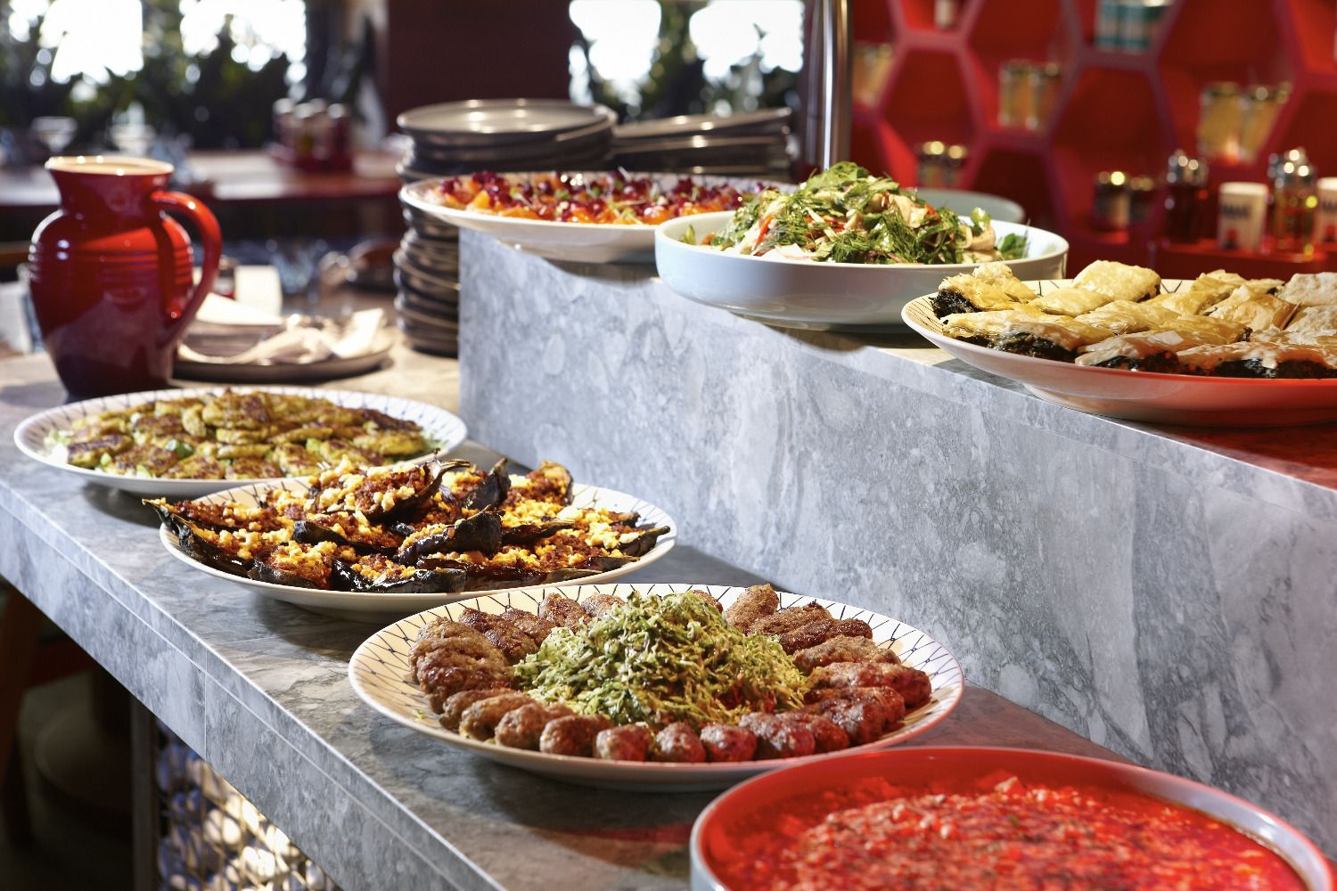 Round Table Lunch Buffet