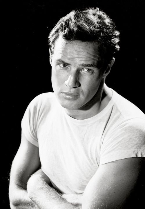 Marlon Brando in a promotional photograph for A Streetcar Named Desire, 1951