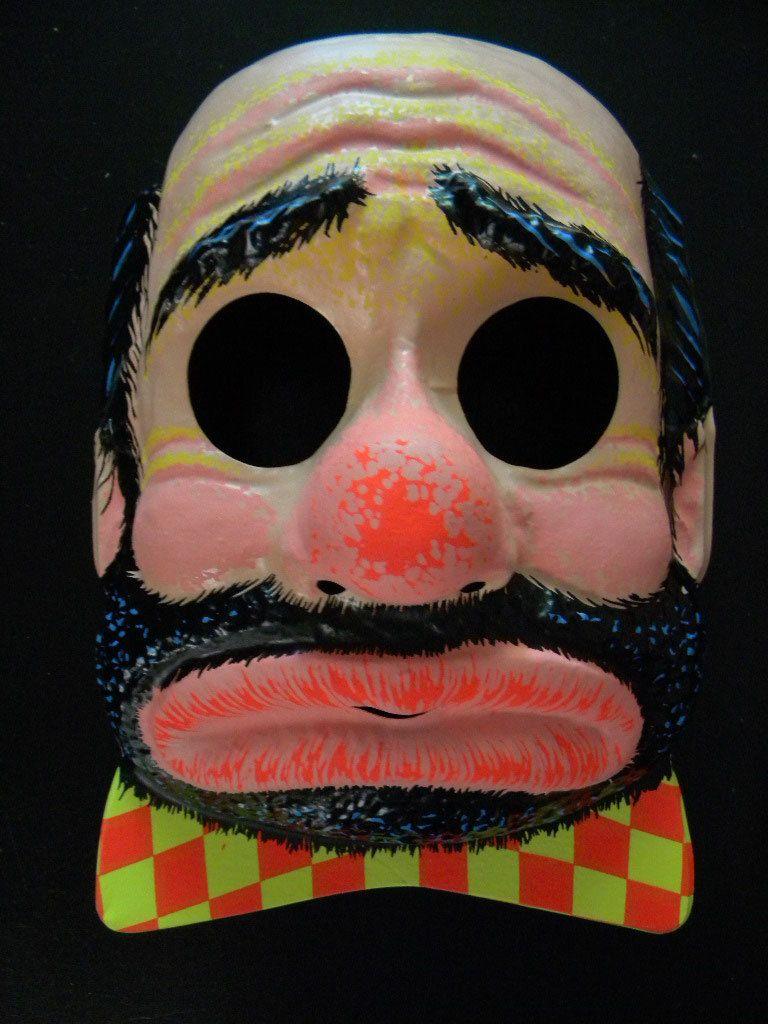 Reserved listing for Penelope-Two Vintage Halloween Masks - Hobo ...