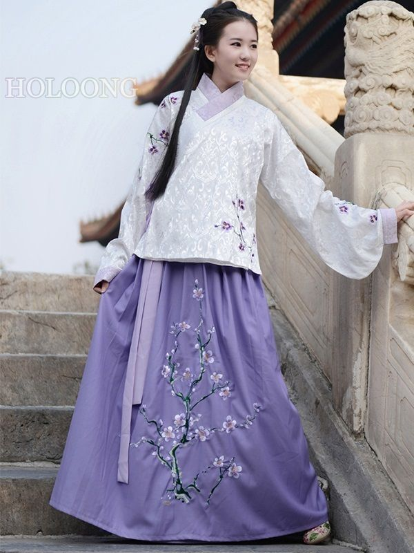 de1aa3a755 Custom Ancient china clothing Orient asian clothes Jacket and skirt Women  Hanfu Outfits -  314.00