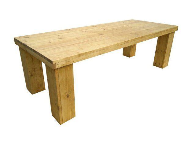 Esstisch Schreibtisch Aus Holz Gartentisch Esstische Bauholz