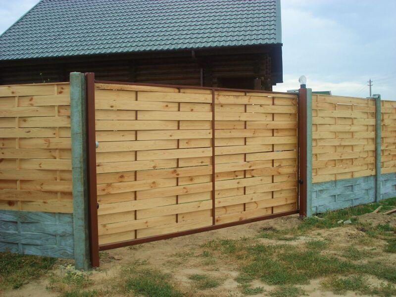 Заборы для дачи | Купить красивый и прочный забор для ...