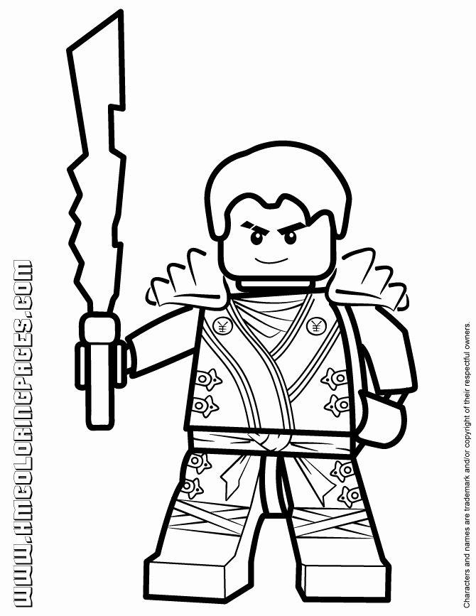 28 Jay Ninjago Coloring Page in 2020 | Lego kleurplaten ...