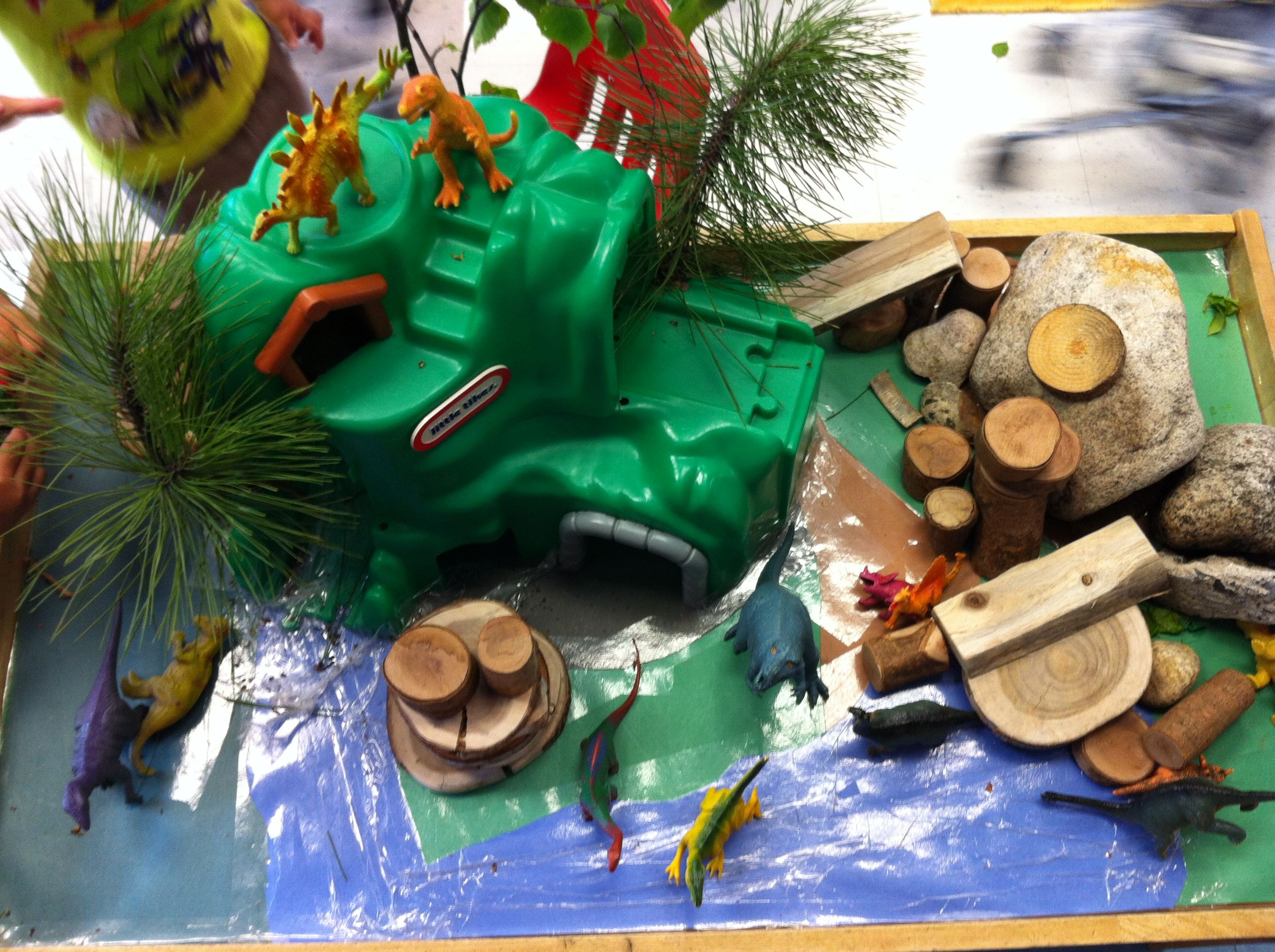 Preschool Dinosaur Dramatic Play Area With Images