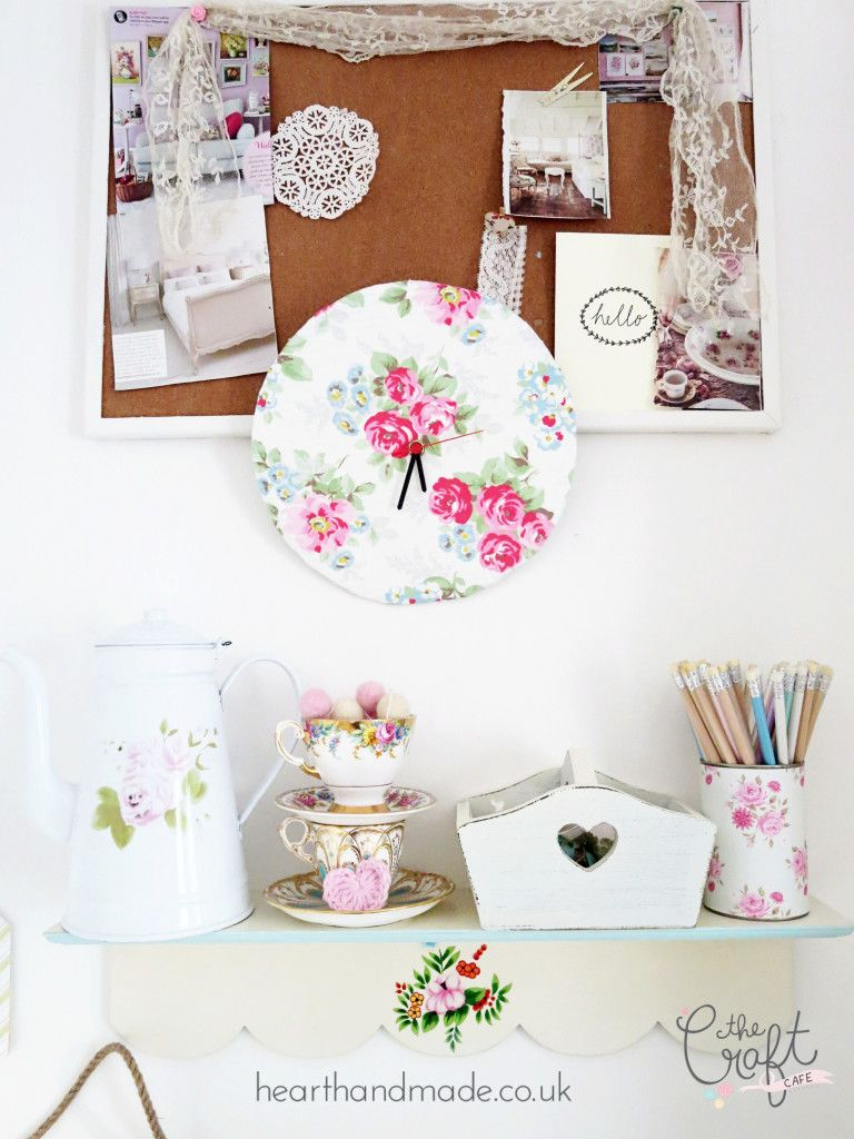 How To Make A Clock Cath Kidston Would Be Proud Of | Cath kidston ...