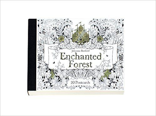 Enchanted Forest 20 Postcards Amazoncouk Johanna Basford Books