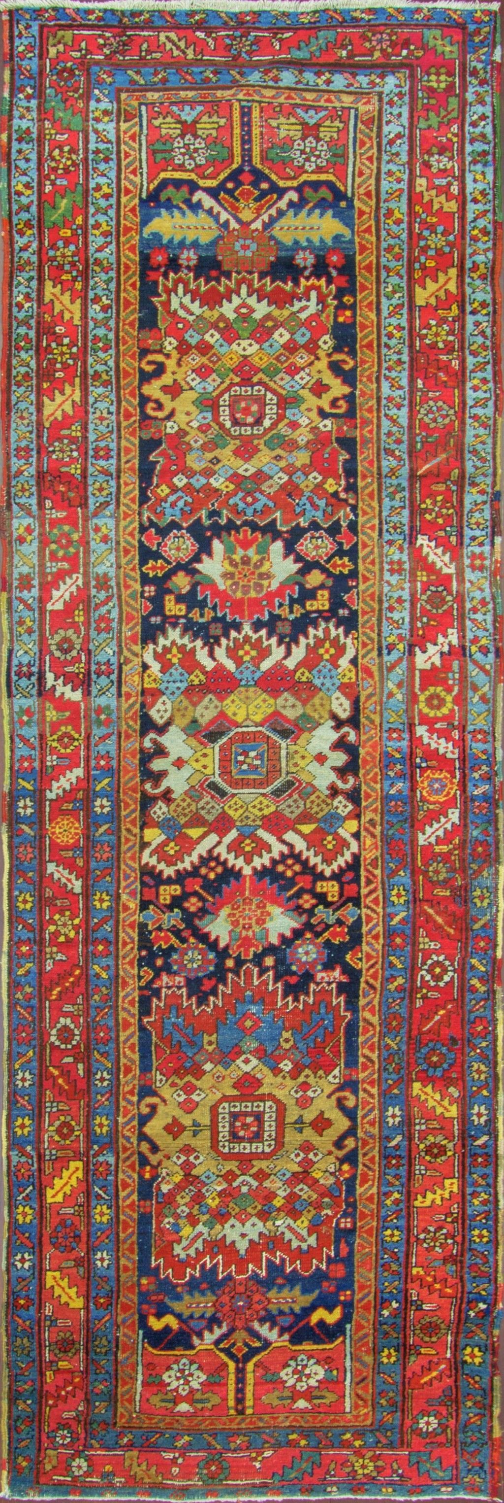 Best Persian Heriz Runner 109Cm X 361Cm 1920 Eli Peer 400 x 300