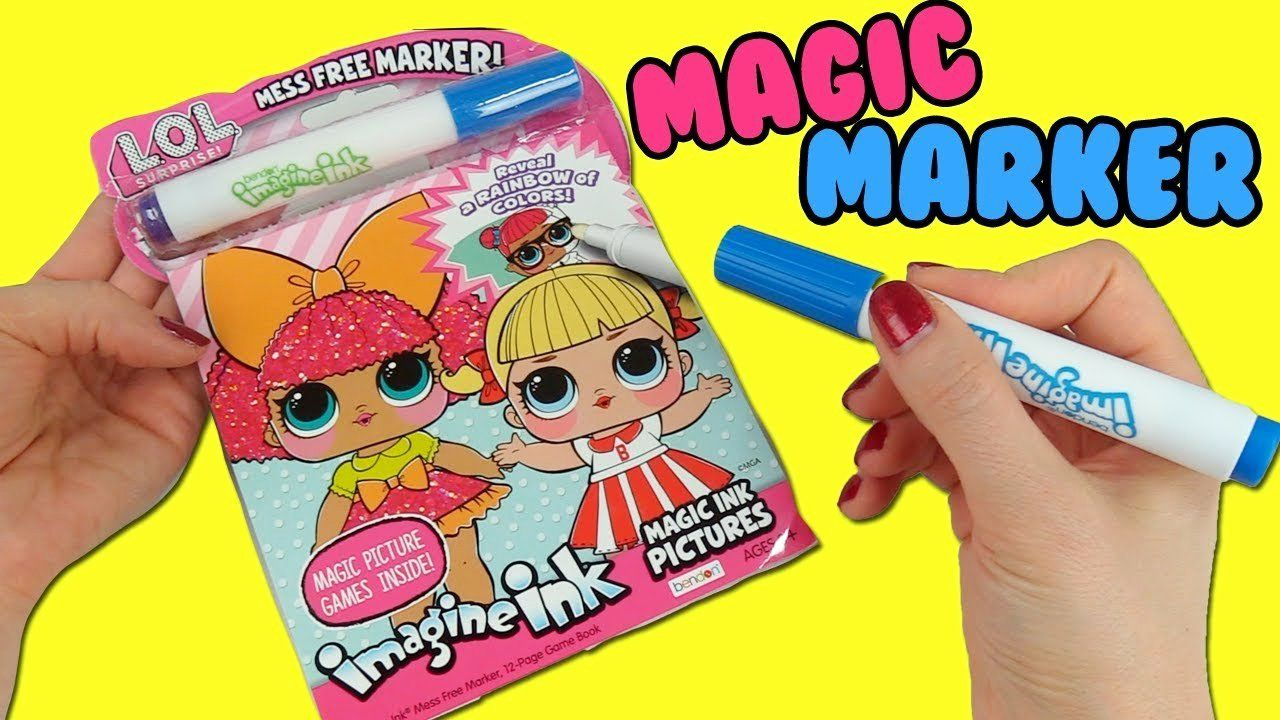 27 Magic Marker Coloring Book In 2020 Coloring Books Coloring Pages For Kids Christmas Coloring Pages