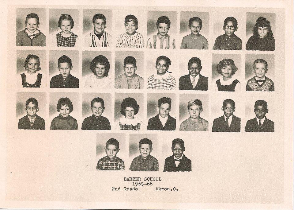 1966 George Barber Elementary School Class Photo Grouping Goodyear