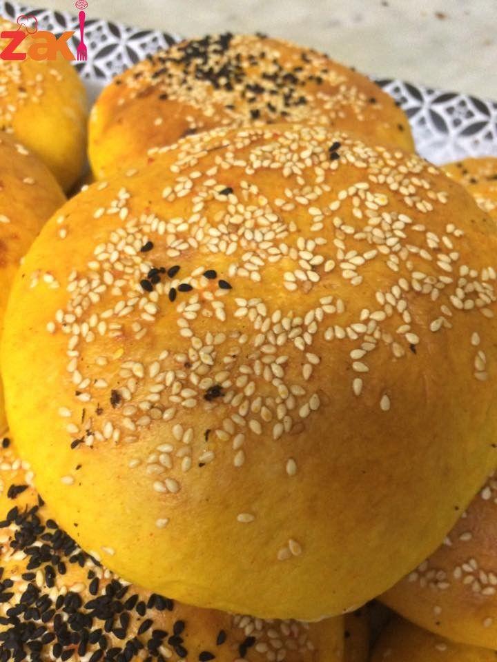 خبز البرجر البيتي هش و لذيذ و طريقة بسيطة جدا زاكي Food Arabic Food Sweet Pastries