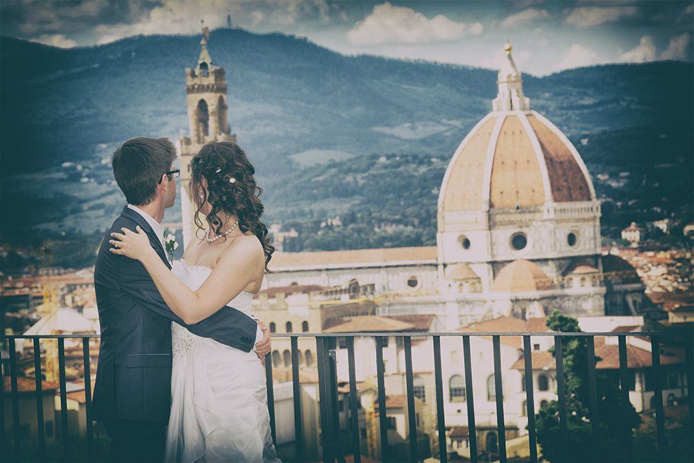wedding photos on Giardini Bardini, Florence wedding photos on ...