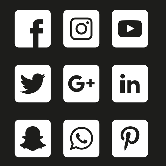 Social Media Icons Set Social Icons Media Icons Social Png And Vector With Transparent Background For Free Download Social Media Icons Media Icon Social Icons