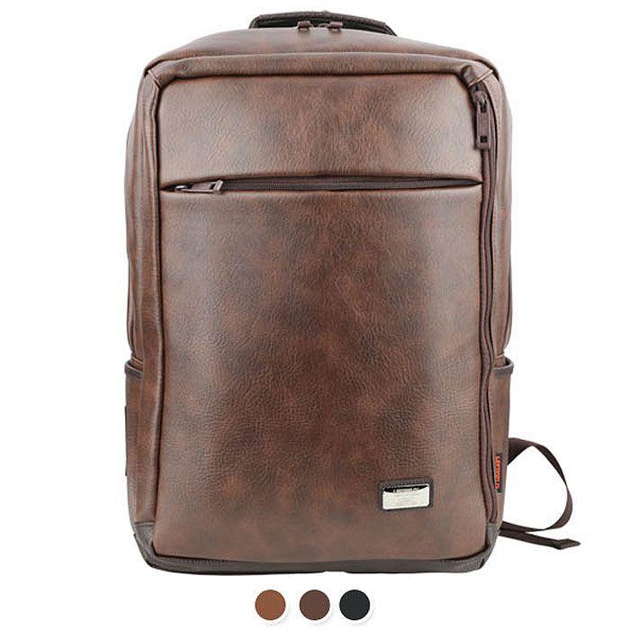 LEFTFIELD Mens Backpacks for College - S. Korea Laptop Bag , Zip ...