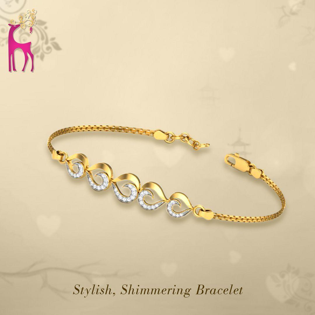 Diamond Bracelet Diamond Bracelet Make Your Look Truly Elegant By Choosing A Diamond Brace In 2020 Diamond Bracelet Design Jewelry Bracelets Gold Gold Bracelet Chain