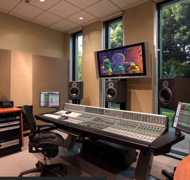 Audio Post Production Recording studio home, Home