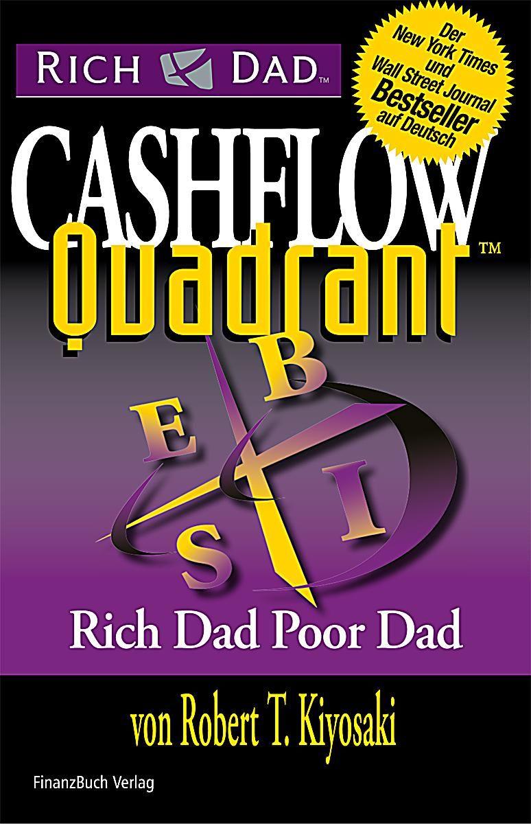 Ich denke der Look des Covers verrät schon, dass auch dieses Buch von Robert T. Kiyosaki stammt. Ich muss sagen von diesem Buch mehr gelernt zu haben als von Rich Dad & Poor Dad, da es eine bessere Verständigung über Geschäftssysteme und Typen mit sich bringt. http://www.amazon.de/gp/product/3898795918/ref=as_li_qf_sp_asin_il_tl?ie=UTF8&camp=1638&creative=6742&creativeASIN=3898795918&linkCode=as2&tag=wwwtorwartzon-21