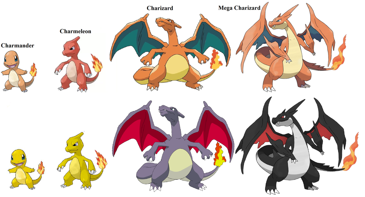 charizard all evolution forms - Google Search | cool stuff ...