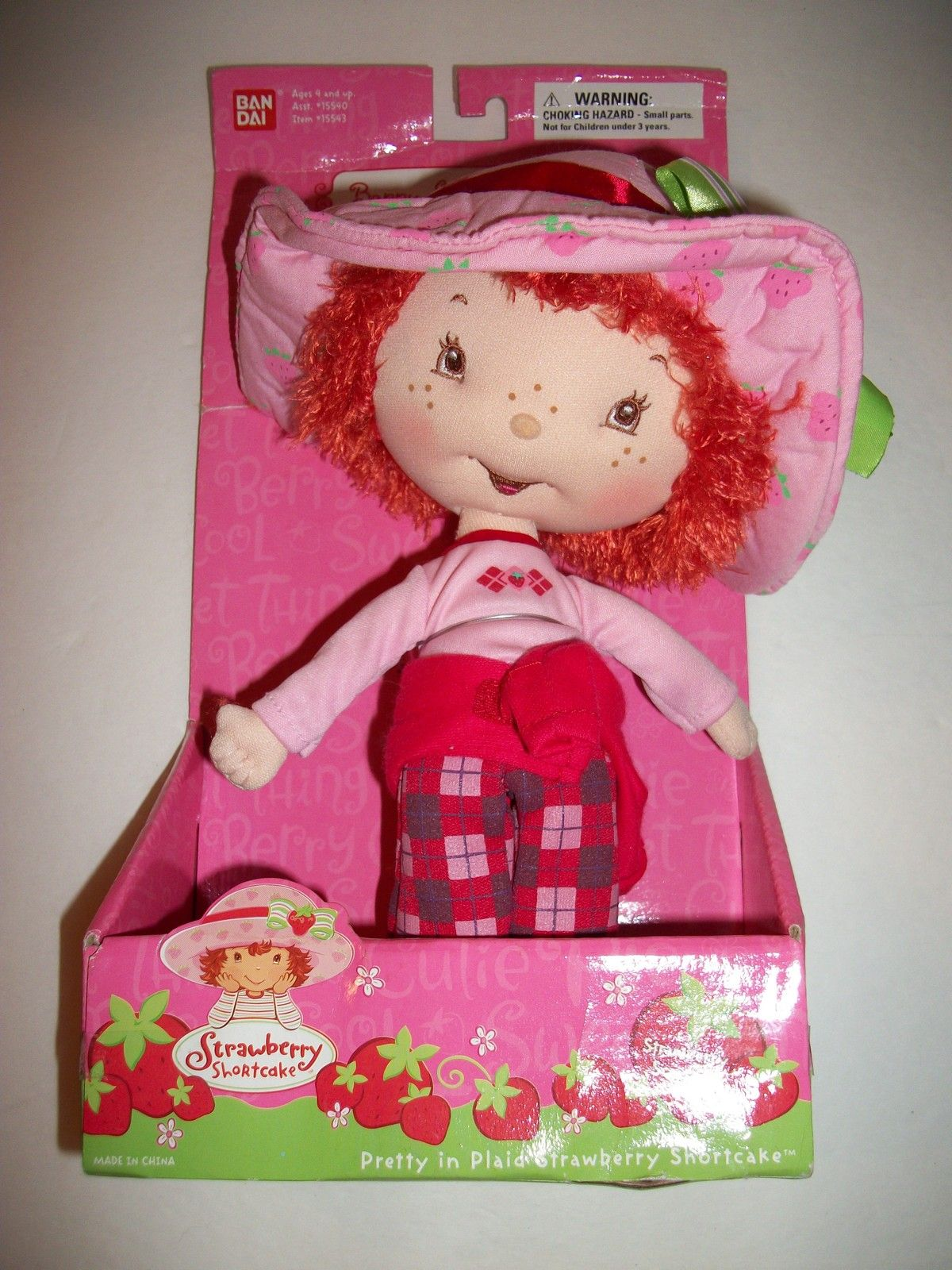 Strawberry Shortcake Doll In Plaid by Bandi | # 4. etc.... | Pinterest