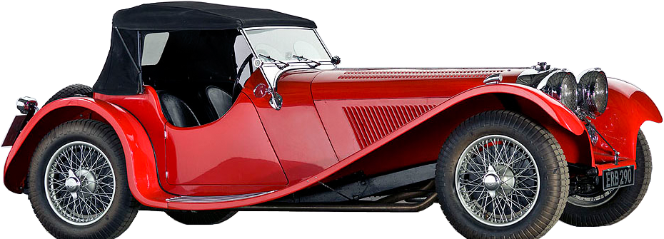 1938 SS JAGUAR 100 2 ½ LITRE   In SS Cars For The First Time Produced An  Open Two Seater Sports Car, The In Production Only For A Few Months, ...