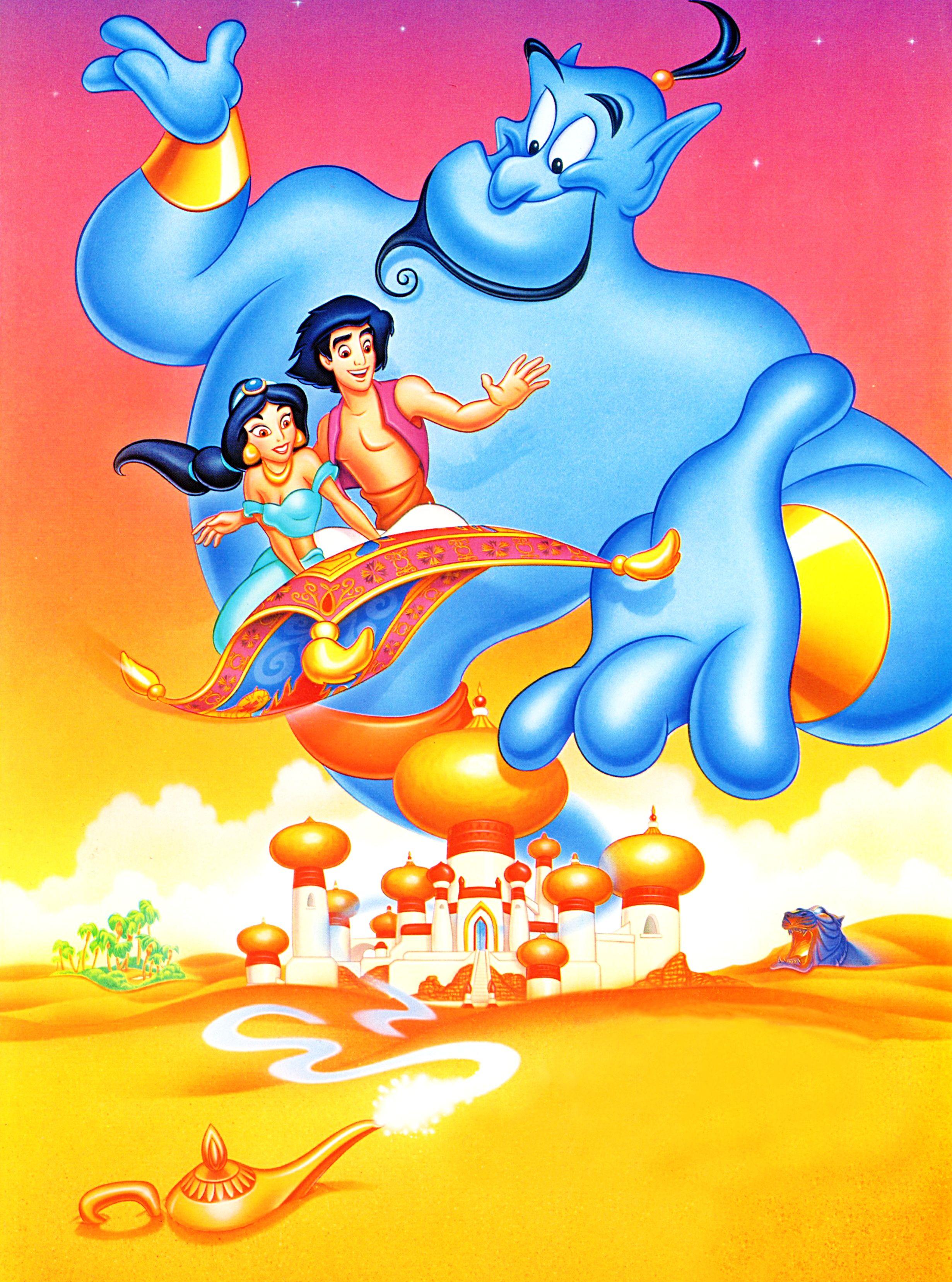 Walt Disney Posters - Aladdin - Walt Disney Characters  Films