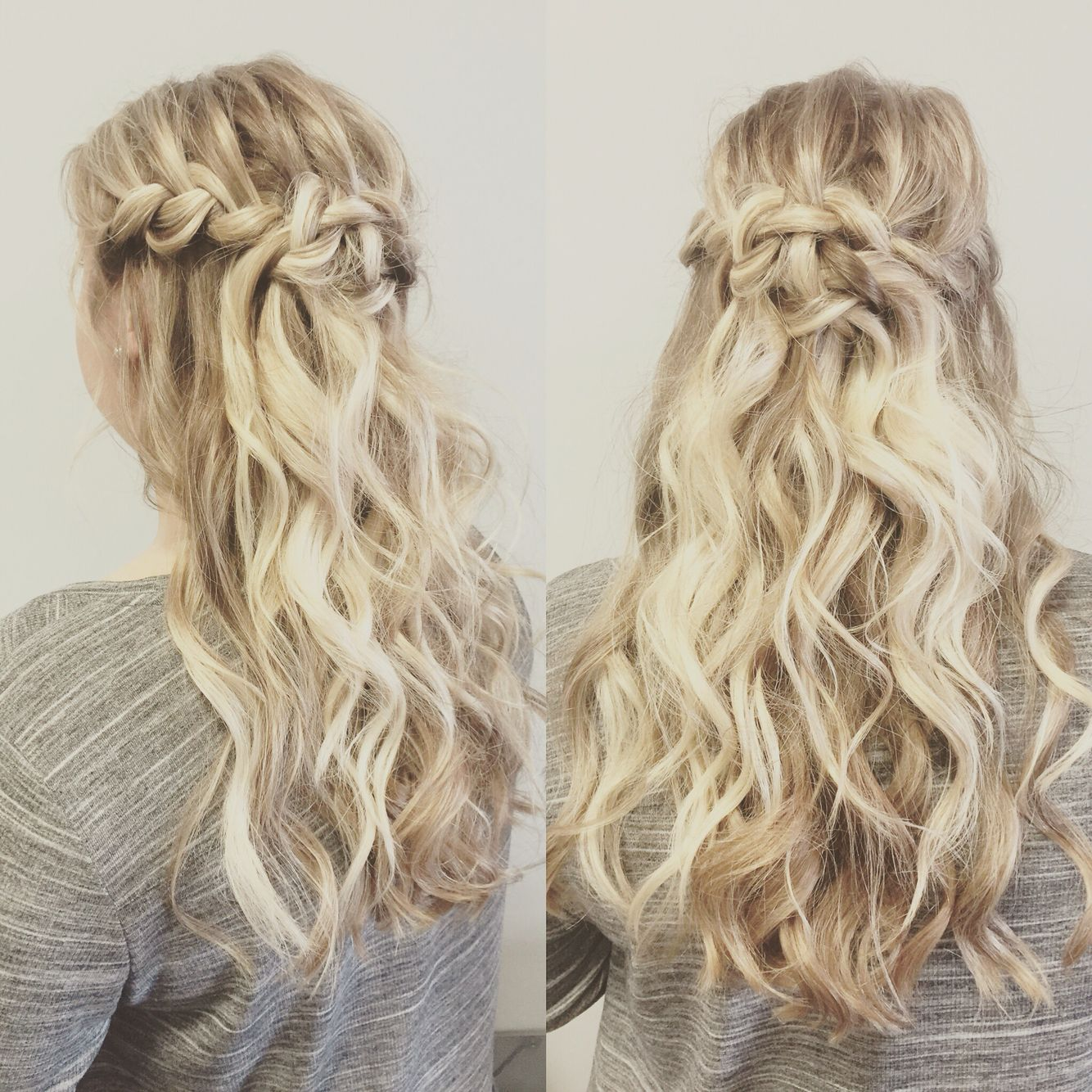 Maid of honor hair for my sister\'s wedding | Chopped | Pinterest ...