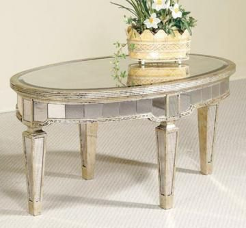 Cool mirrored coffee table Since its mirrored doesnt it go with