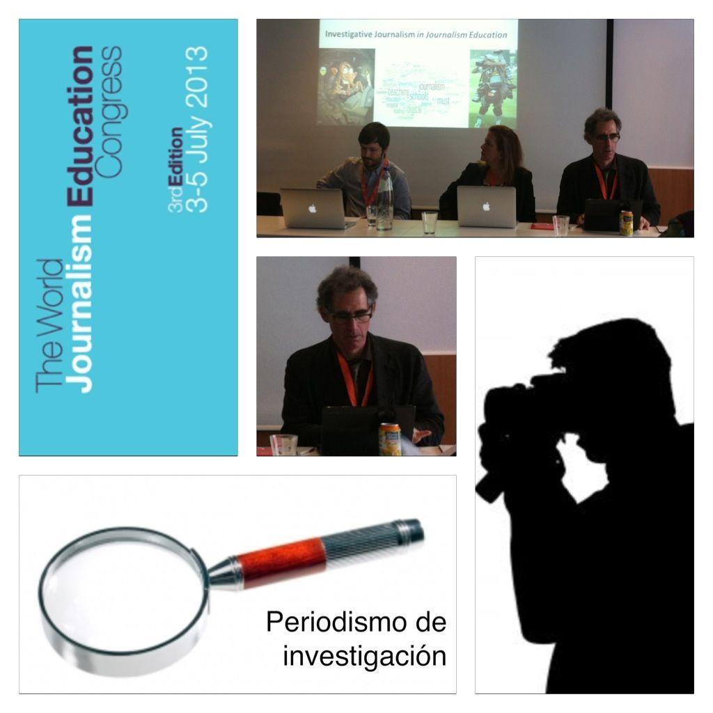 """Mark Lee Hunter: """"El Periodismo de investigación aporta un valor añadido"""", 3r Congreso Mundial Periodismo & Educación"""