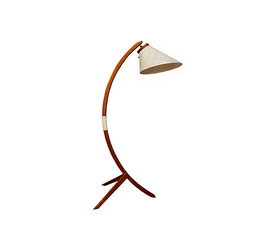 Danish Modern Teak Arched Floor Lamp Already Sold Boo Arched