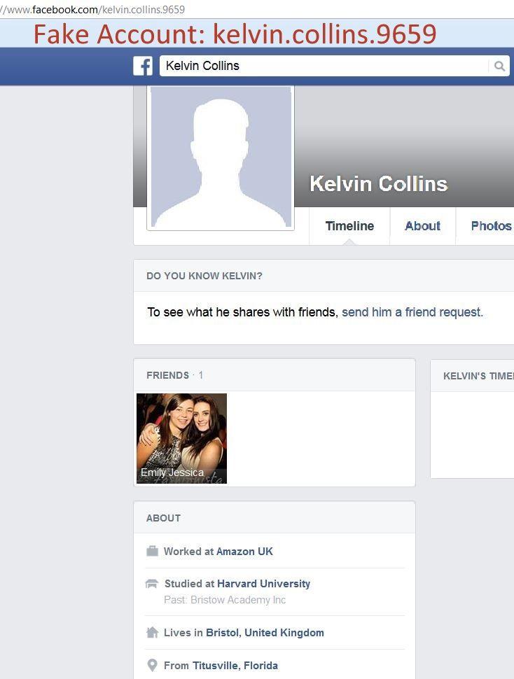 Fake profile fake