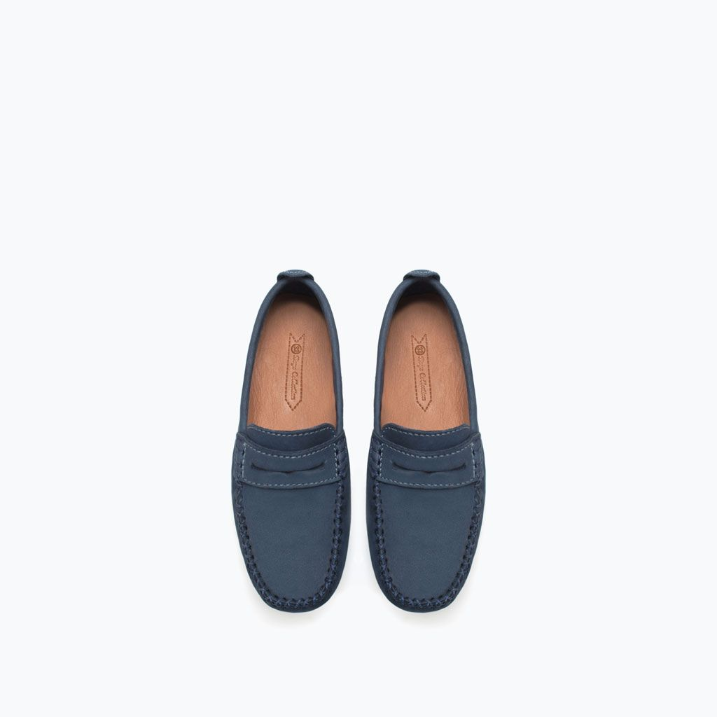 LEATHER MOCCASIN-Shoes-Boy-KIDS-SALE   ZARA United States
