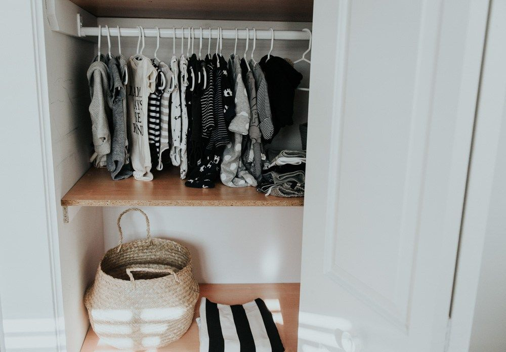 Minimal Black and White Nursery. Natalie Young - A Lifestyle Blog -