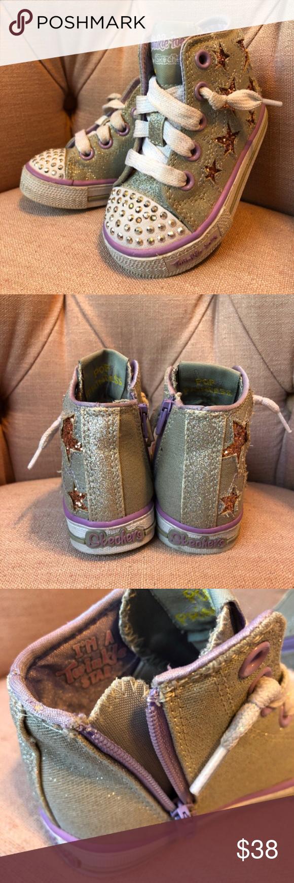 Twinkle Toes Pop Princess Skechers
