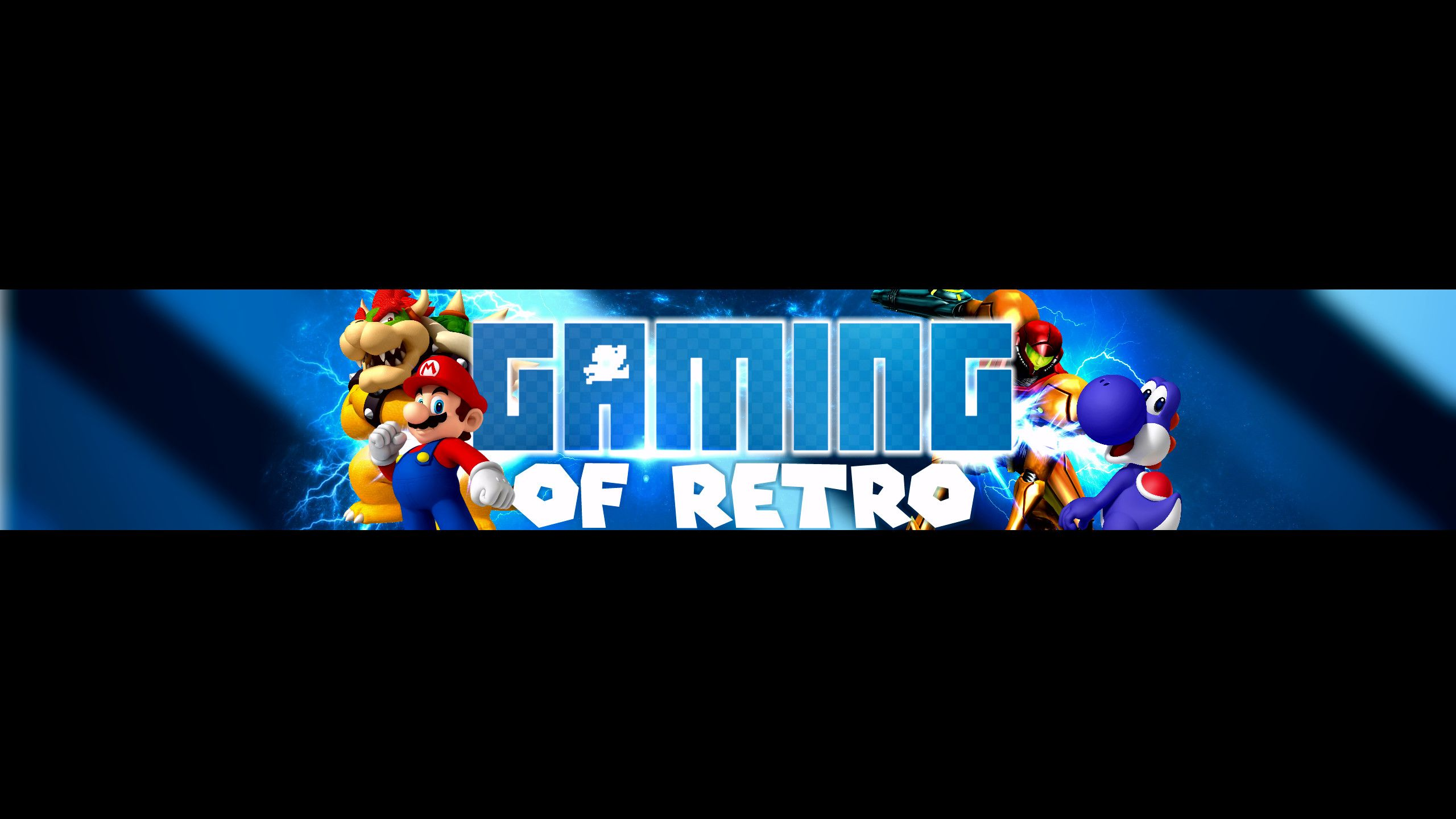 2560x1440 Gaming Of Retro Youtube Banner By Nitrorex